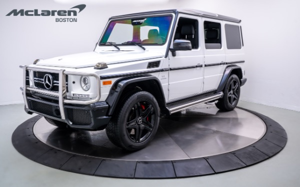 Used 2018 Mercedes-Benz G63 AMG-Norwell, MA