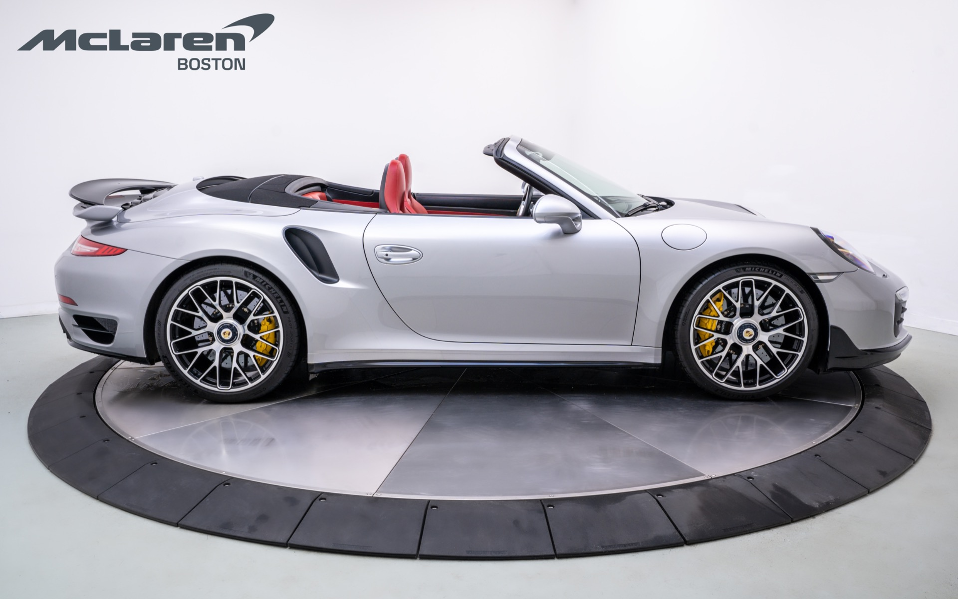 Used 2016 PORSCHE 911 Turbo S Cabriolet | Norwell, MA