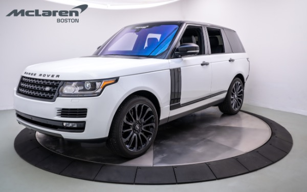Used 2017 Land Rover Range Rover-Norwell, MA