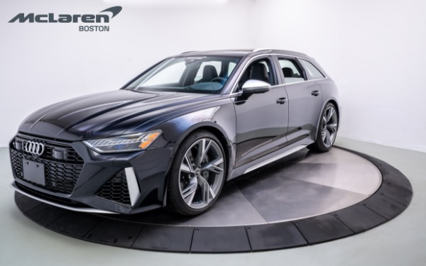 Used 2021 Audi RS 6-Norwell, MA