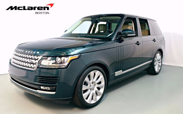 Used 2015 Land Rover Range Rover-Norwell, MA