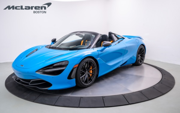 Used 2021 MCLAREN 720S Spider-Norwell, MA