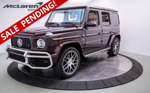 Used 2021 Mercedes-Benz G63 AMG-Norwell, MA