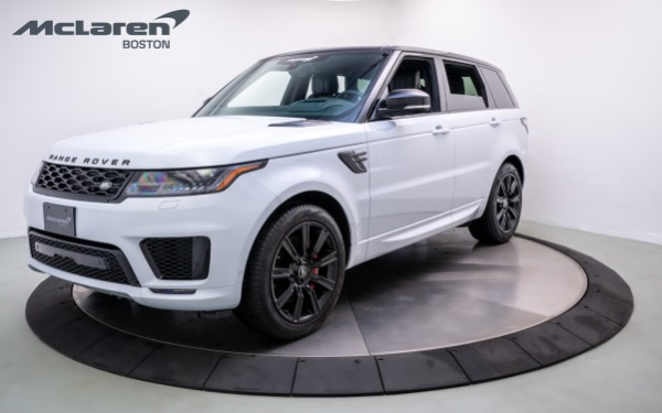 Used 2020 LAND ROVER RANGE ROVER SPORT-Norwell, MA