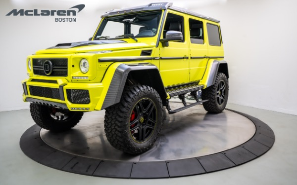 Used 2017 Mercedes-Benz G 550 4X4 SQUARED-Norwell, MA