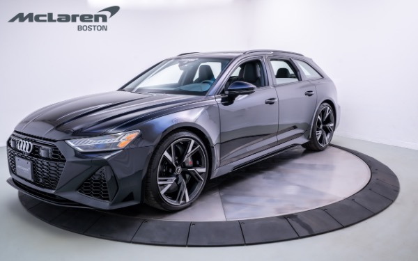 Used 2021 AUDI RS6-Norwell, MA