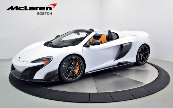 Used 2016 MCLAREN 675LT SPIDER-Norwell, MA