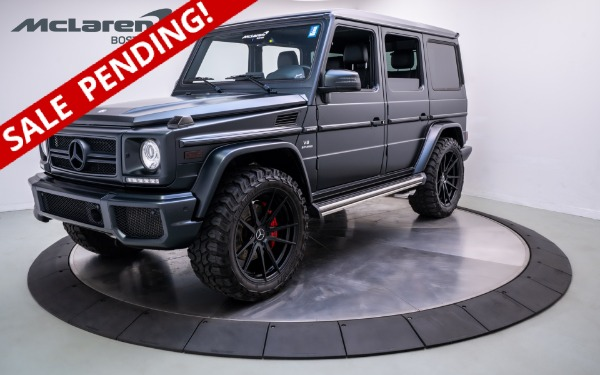 Used 2017 Mercedes-Benz G63-Norwell, MA