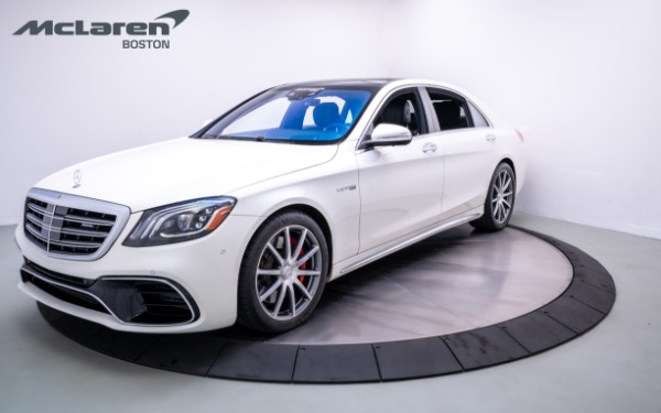 Used 2018 Mercedes-Benz S 63 AMG-Norwell, MA