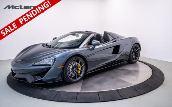 Used 2020 MCLAREN 570S Spider-Norwell, MA