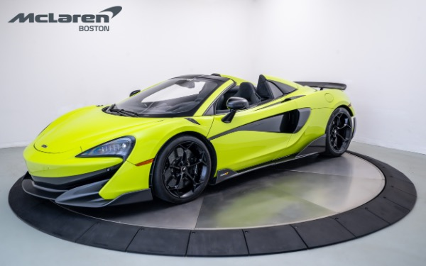Used 2020 MCLAREN 600LT Spider-Norwell, MA