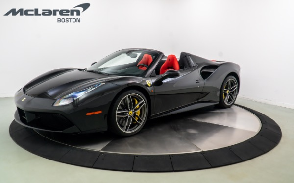 Used 2016 FERRARI 488 SPIDER-Norwell, MA