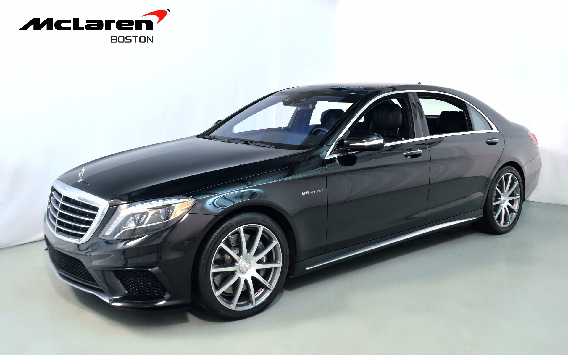 2014 mercedes benz s class s63 amg for sale in norwell ma 034988 mclaren boston. Black Bedroom Furniture Sets. Home Design Ideas