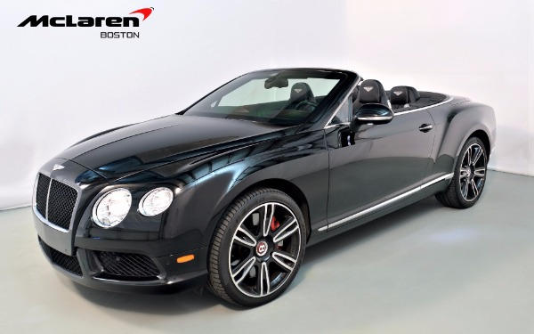 Used 2013 Bentley Continental GTC V8-Norwell, MA