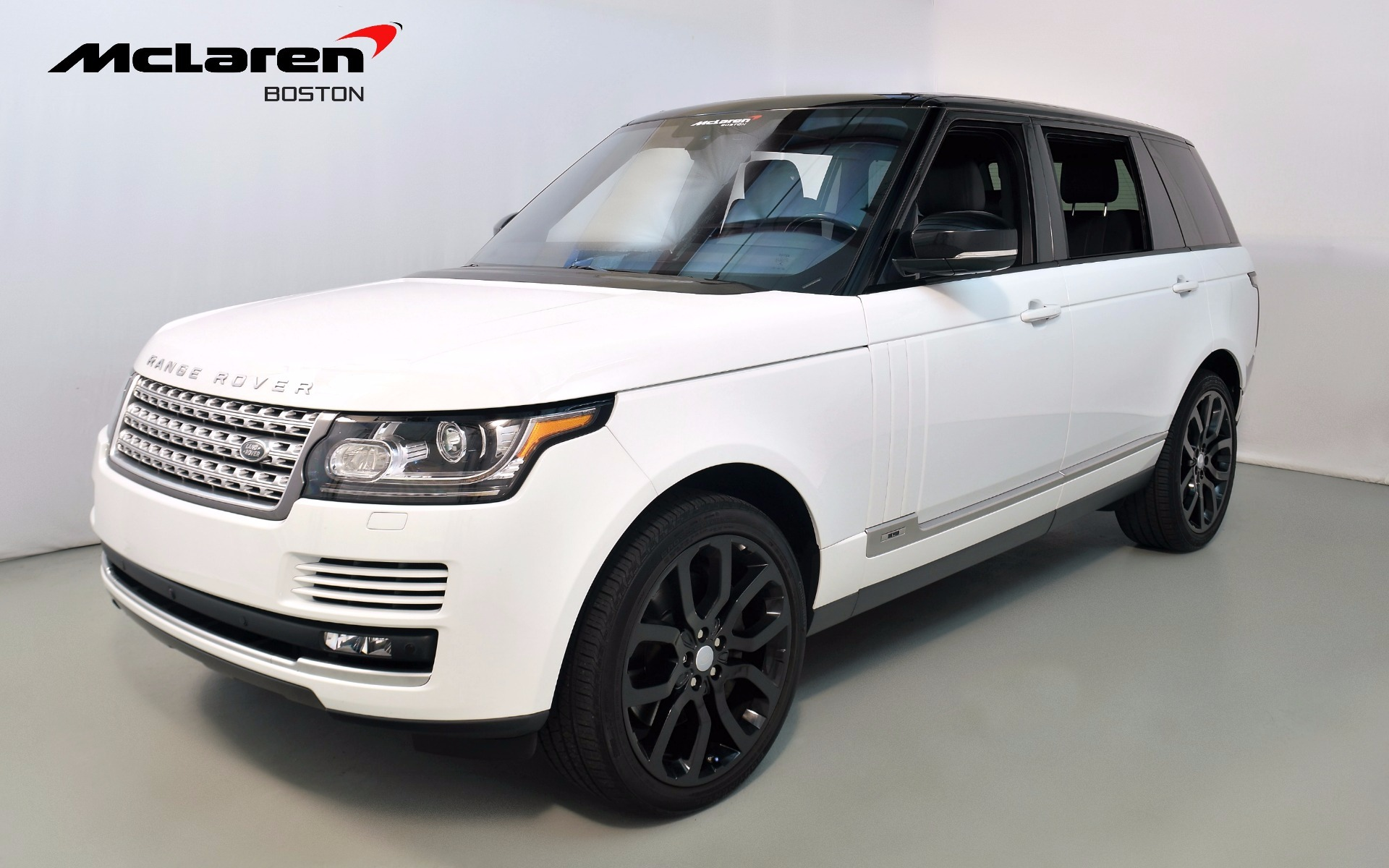 2016 land rover range rover supercharged for sale in norwell ma 278347 mclaren boston. Black Bedroom Furniture Sets. Home Design Ideas