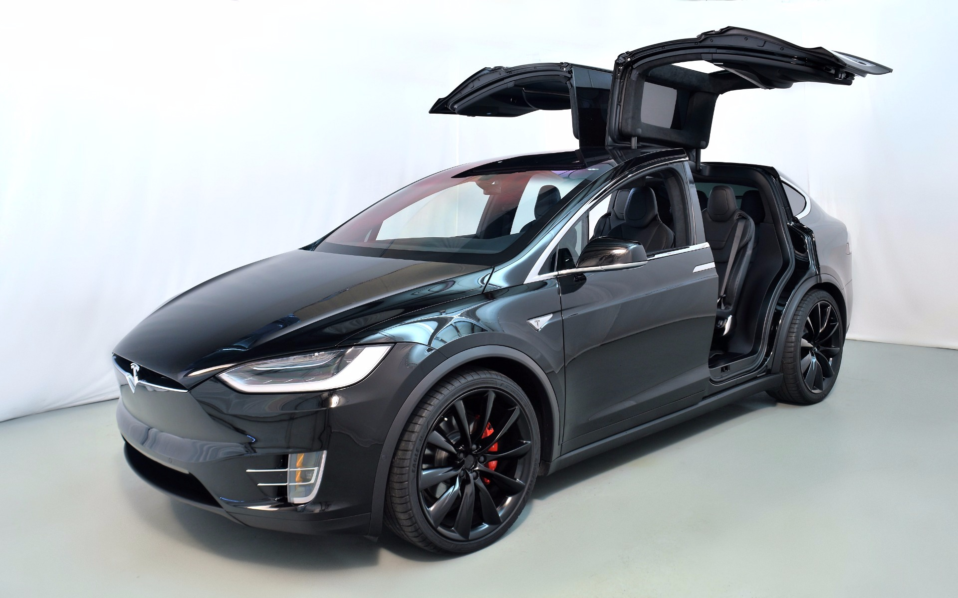 2016 tesla model x p90d for sale in norwell ma 003227 mclaren boston. Black Bedroom Furniture Sets. Home Design Ideas