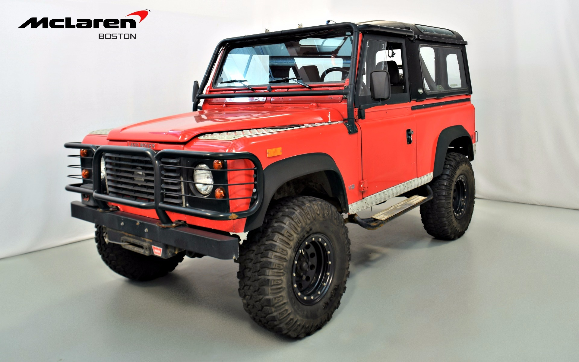 1994 land rover defender 90 for sale in norwell ma 943905 mclaren boston. Black Bedroom Furniture Sets. Home Design Ideas