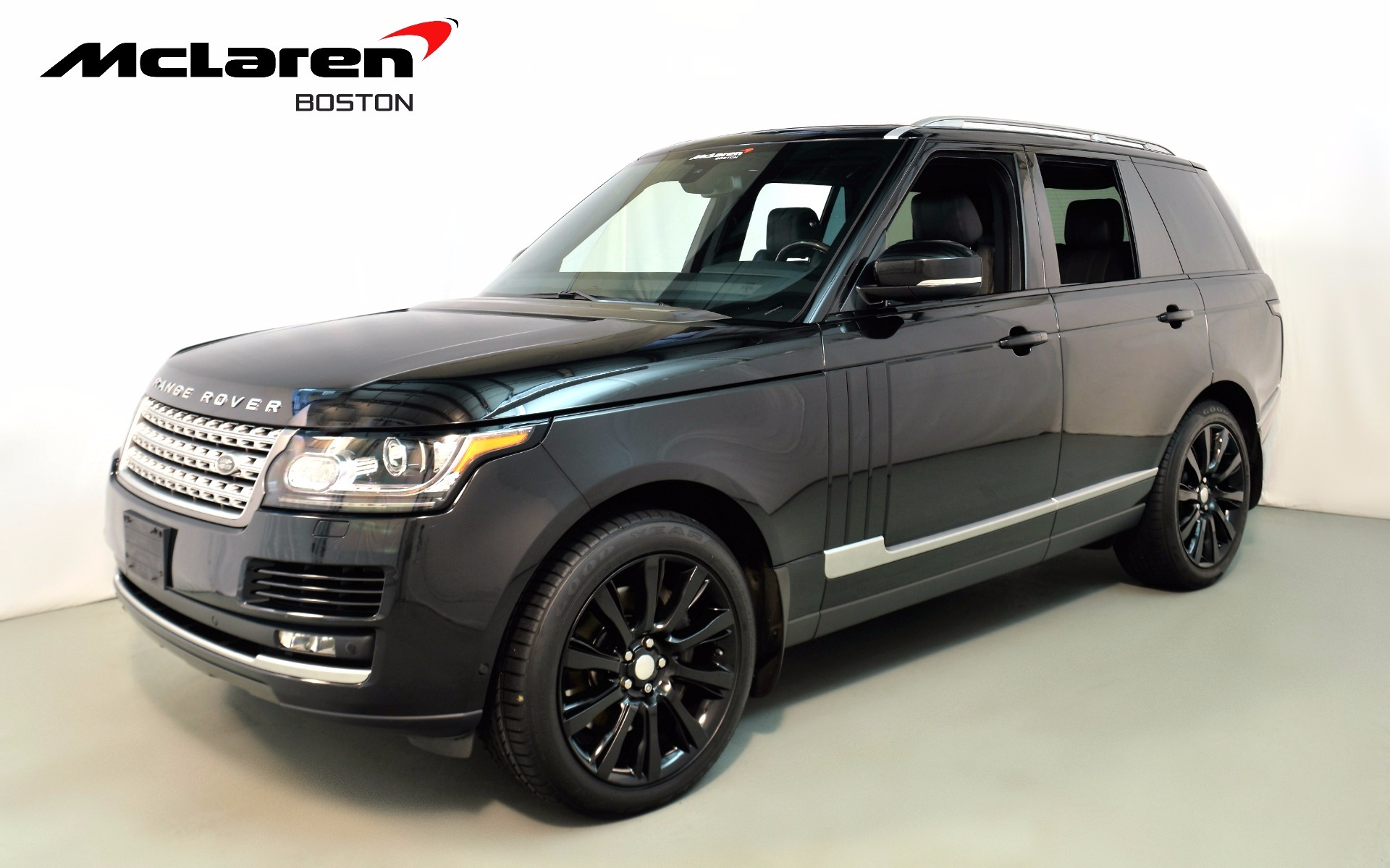 2014 land rover range rover supercharged ebony edition for sale in norwell ma 156743 mclaren. Black Bedroom Furniture Sets. Home Design Ideas