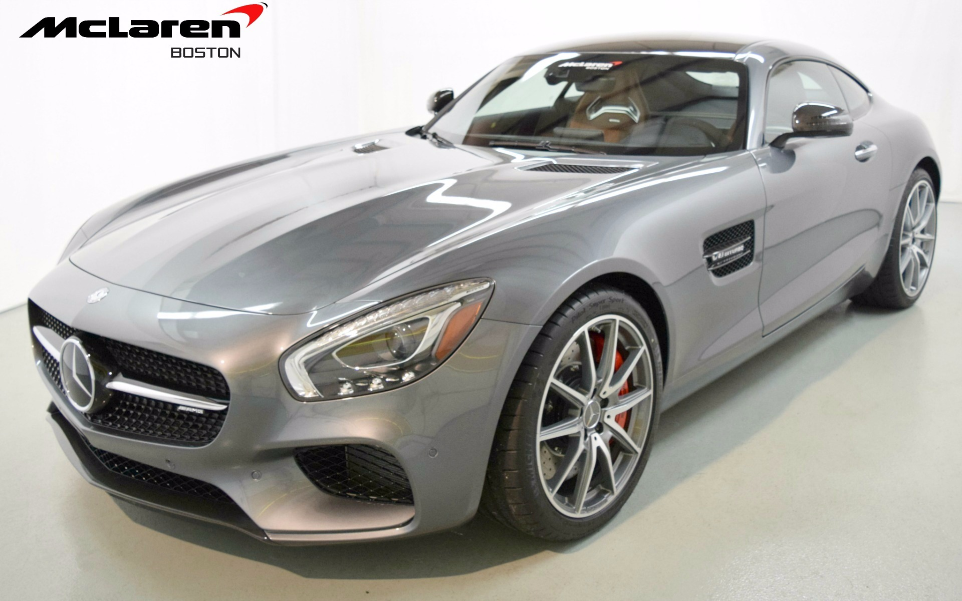 2016 mercedes benz amg gt s for sale in norwell ma 006515 mclaren boston. Black Bedroom Furniture Sets. Home Design Ideas