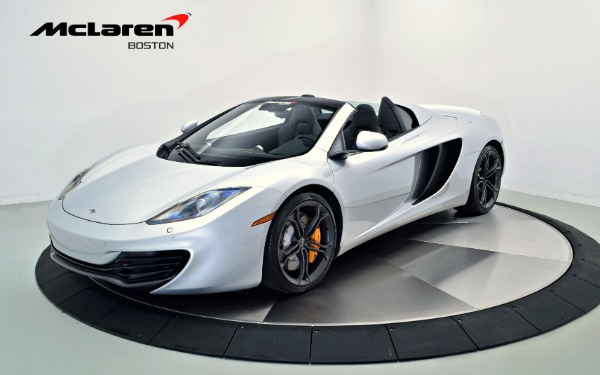 Used 2014 McLaren MP4-12C Spider-Norwell, MA
