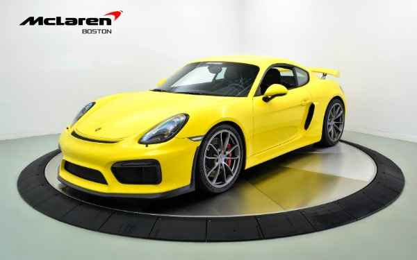 Used 2016 PORSCHE CAYMAN GT4-Norwell, MA