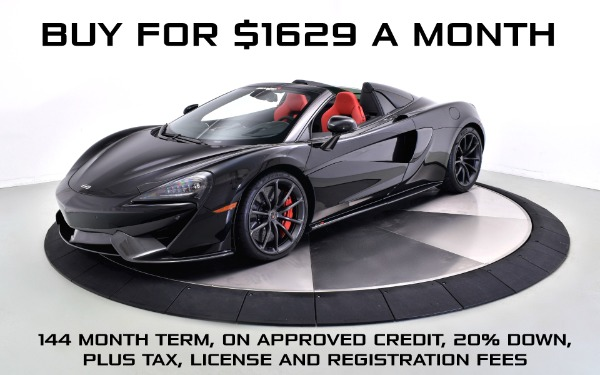 Used 2018 MCLAREN 570S Spider-Norwell, MA