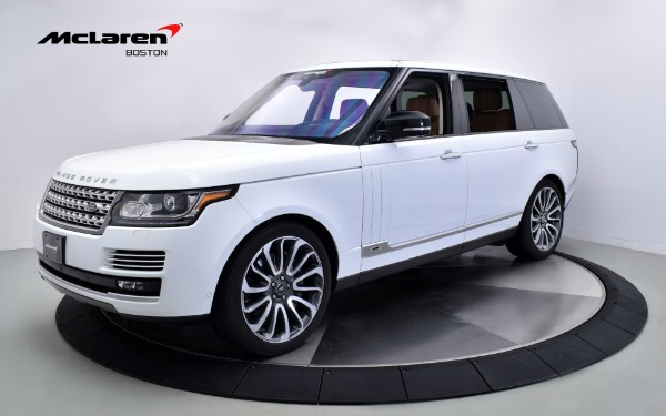 Used 2017 LAND ROVER RANGE ROVER AUTOBIOGRAPHY-Norwell, MA