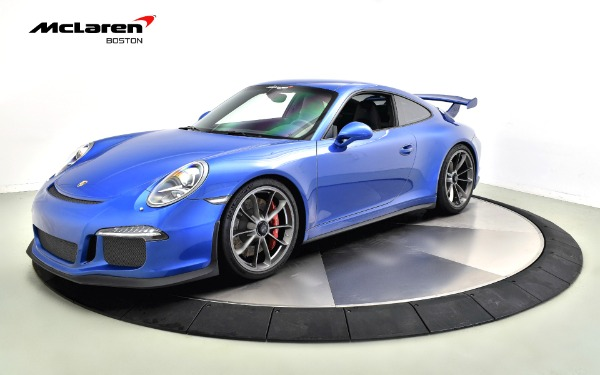 Used 2016 PORSCHE 911 GT3-Norwell, MA