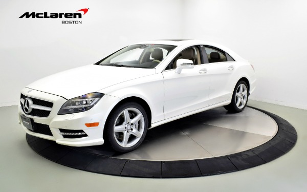 Used 2014 Mercedes-Benz CLS550 4MATIC-Norwell, MA