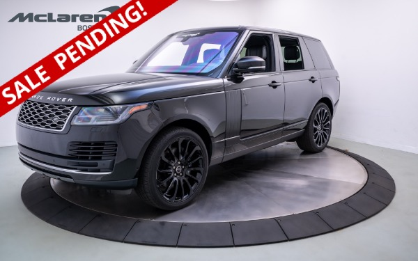 Used 2018 LAND ROVER RANGE ROVER-Norwell, MA