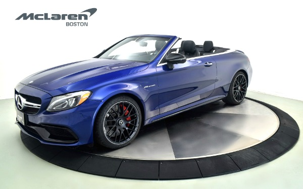 Used 2017 Mercedes-Benz C63 AMG-S-Norwell, MA