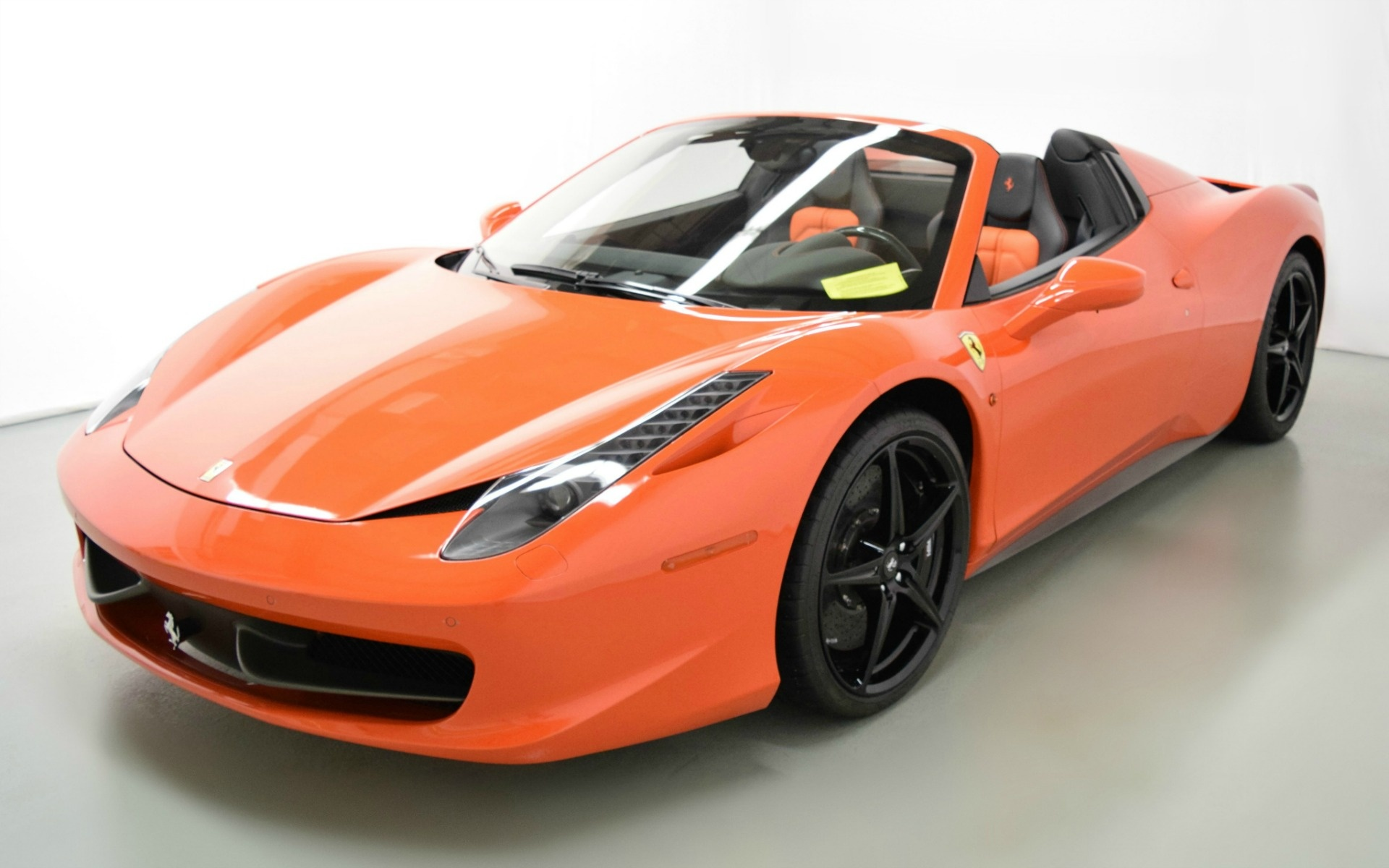 2015 ferrari 458 spider for sale in norwell ma 203958 mclaren boston. Black Bedroom Furniture Sets. Home Design Ideas