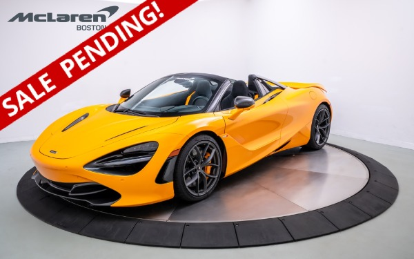 New 2020 McLaren 720 Spider-Norwell, MA
