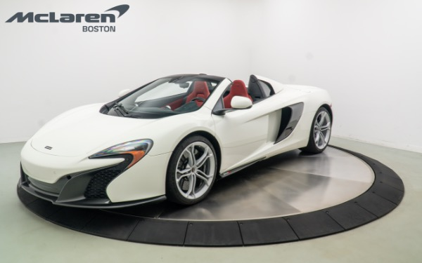 Used 2015 MCLAREN 650S SPIDER-Norwell, MA