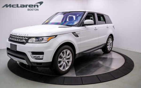 Used 2016 LAND ROVER RANGE ROVER SPORT-Norwell, MA