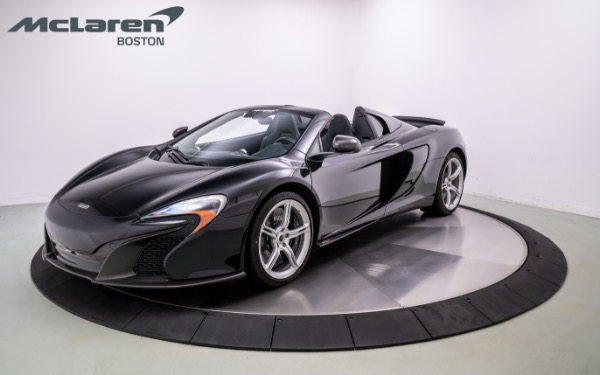 Used 2016 MCLAREN 650S Spider-Norwell, MA