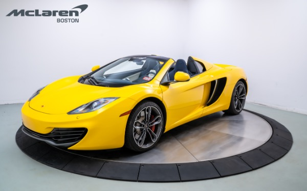 Used 2013 MCLAREN MP4-12C SPIDER-Norwell, MA