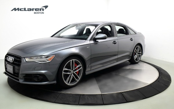 Used 2018 Audi S6-Norwell, MA