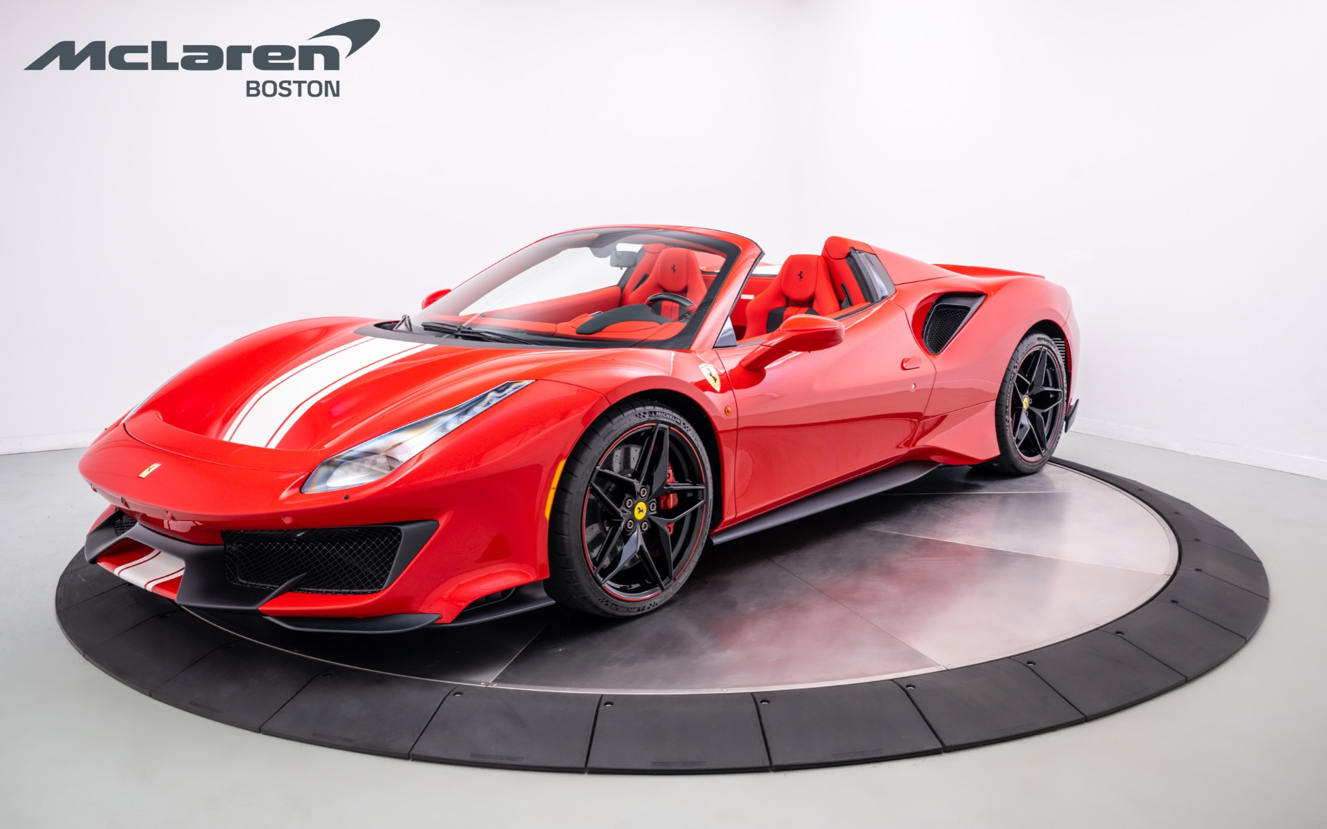 2019 Ferrari 488 Pista Spider For Sale In Norwell Ma 46401f Mclaren Boston