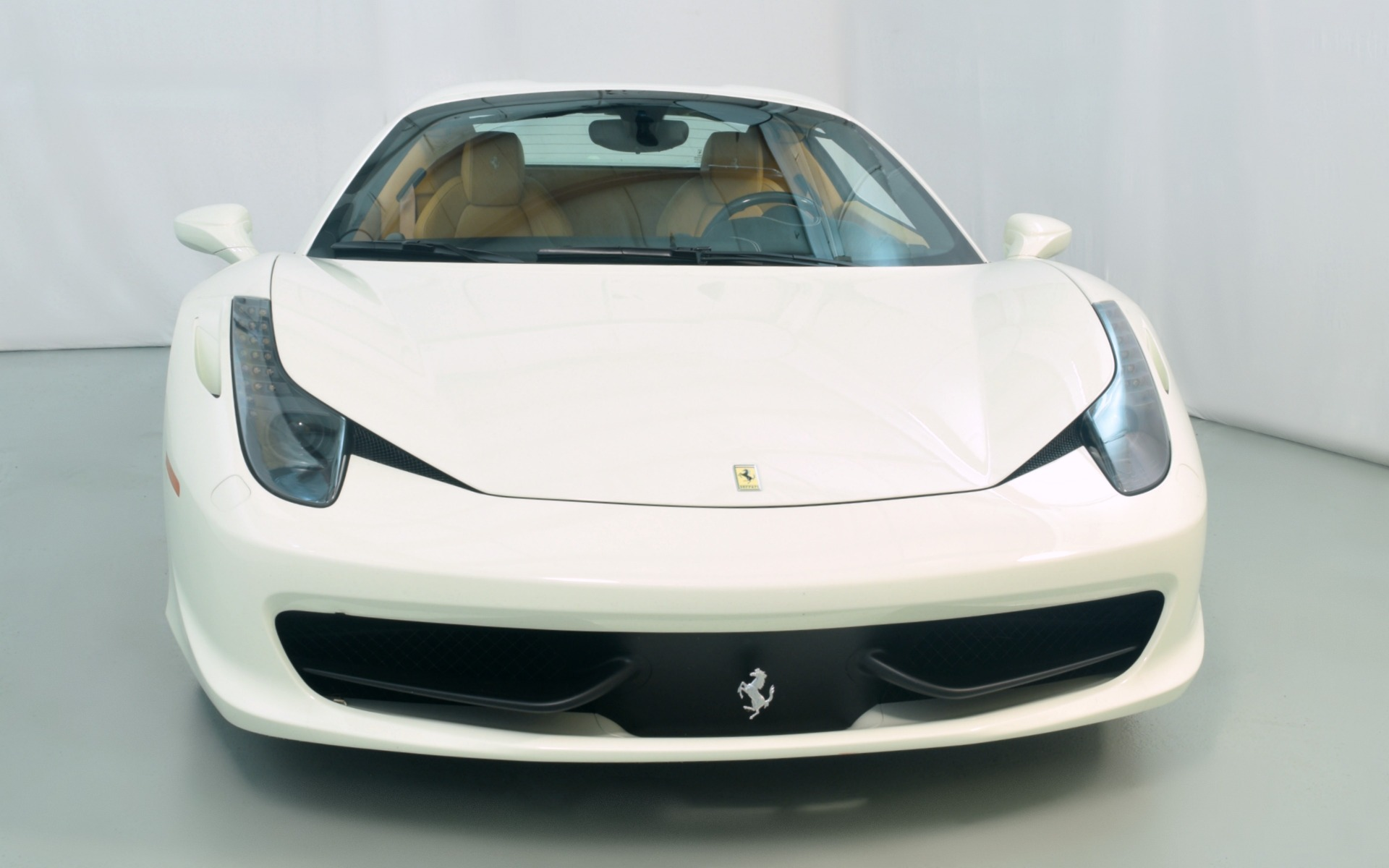 ferrari 2014 white. used 2014 ferrari 458 spider norwell ma white