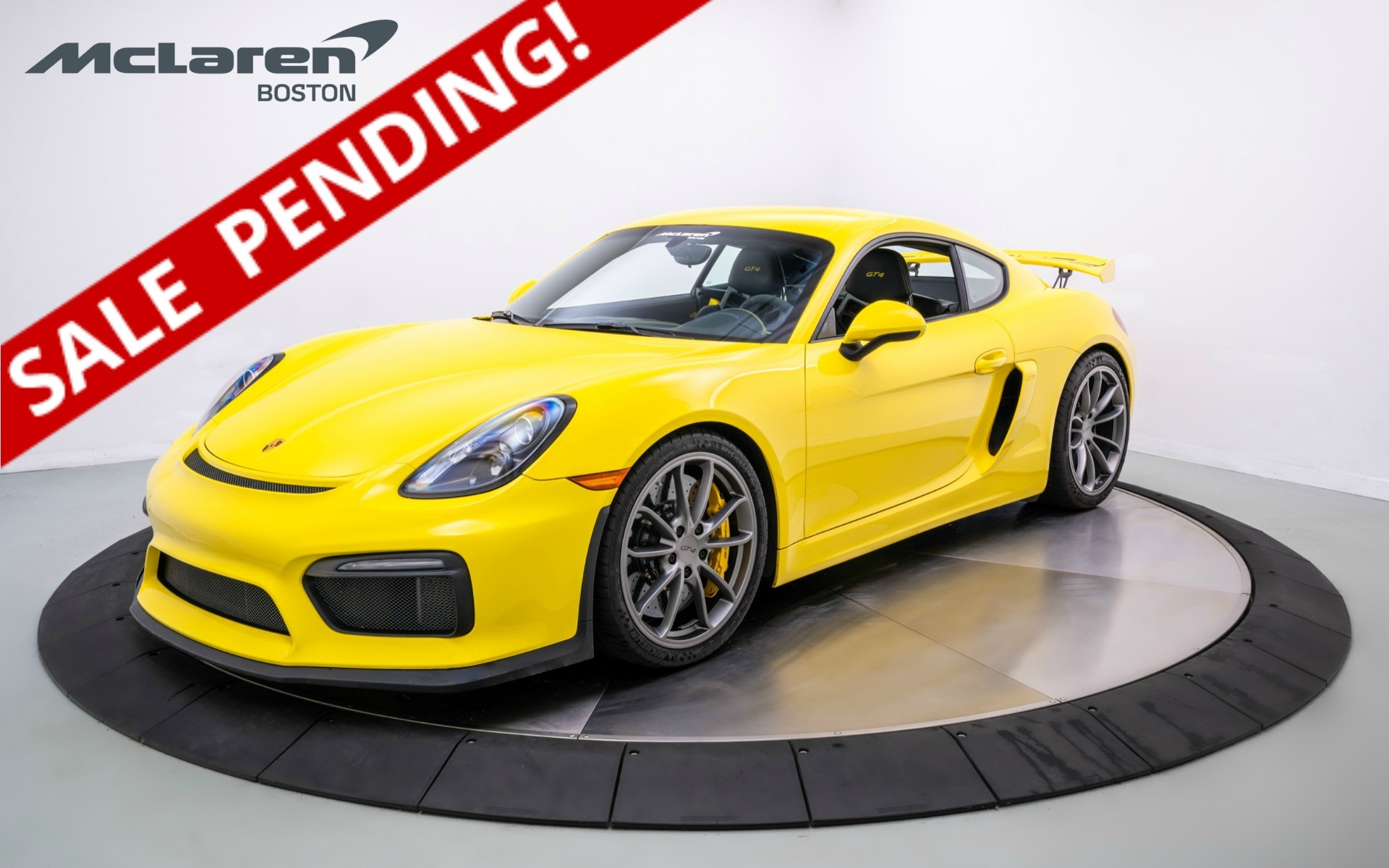 2016 Porsche Cayman GT4 For Sale in Norwell MA 197626