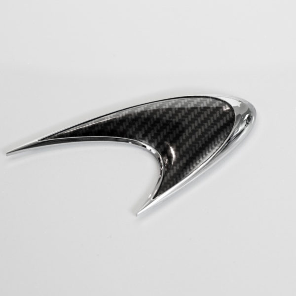 Carbon Fiber Badges - FRONT, 12C