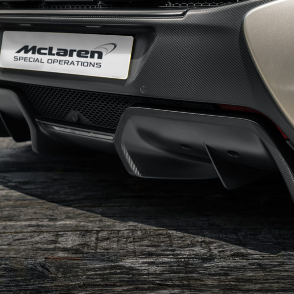 MSO Defined Carbon Fiber Rear Diffuser