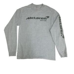grey long sleeve front