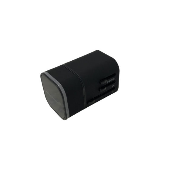 power adapter side