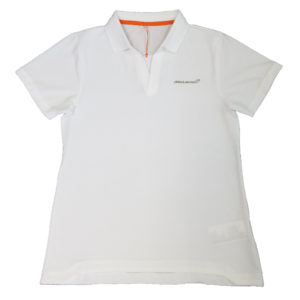 white womens polo
