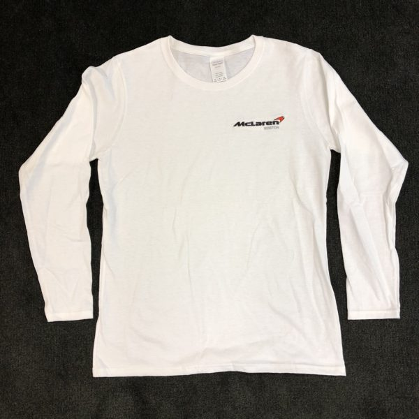 McLaren Boston Long Sleeve Shirt with Embroidered Logo