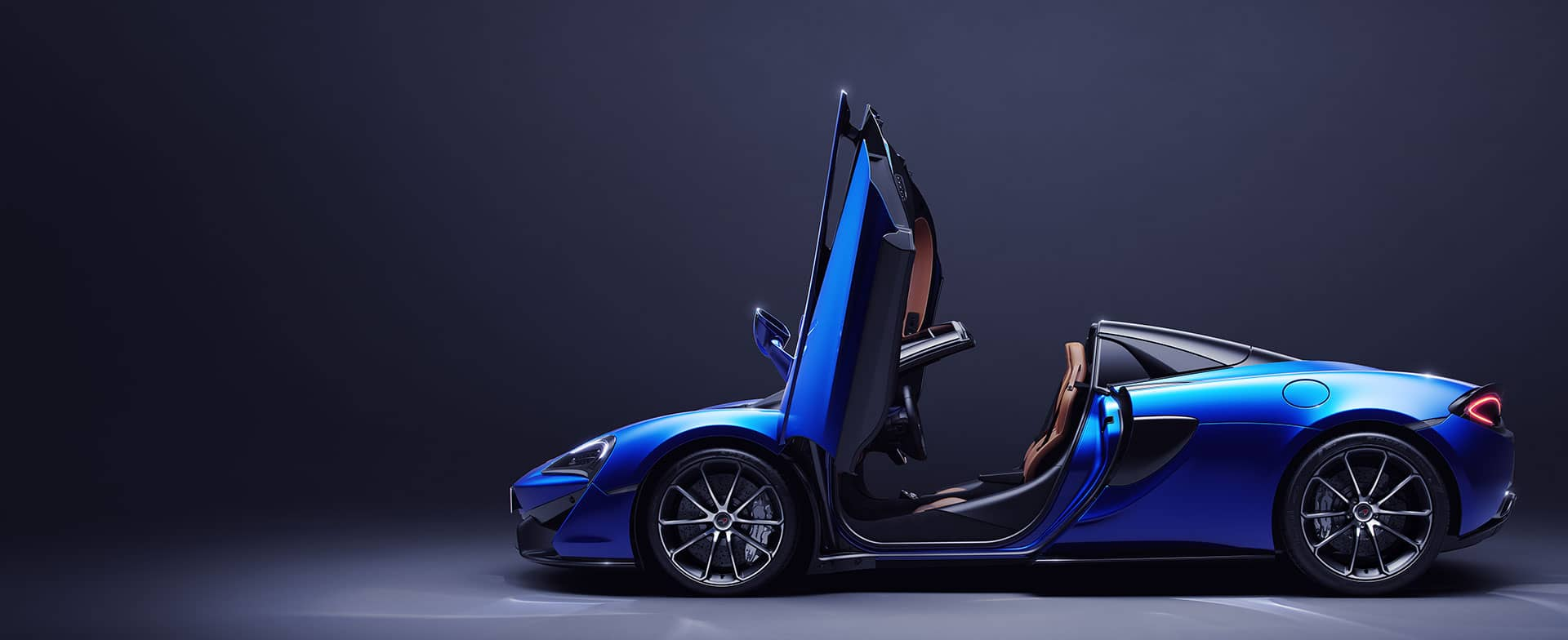 McLaren 570S Spider for The Exhilaration